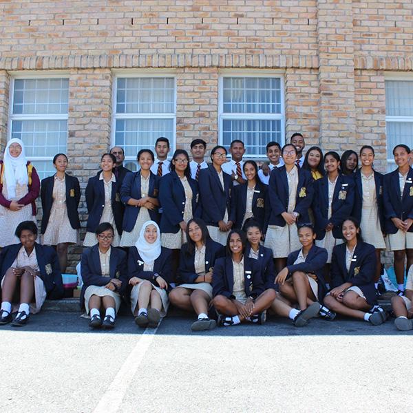 Secondary school group at LOFOB